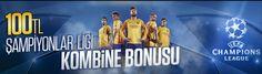 Perabet Şampiyonlar Ligi Kombine Bonusu