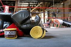 Get an old school work out at South Central Gym inside The Duce in Downtown Phoenix.