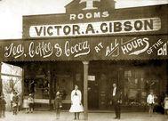 Gibsons Tea rooms at Murwillumbah 1920.