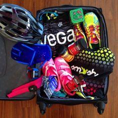 All my triathlon training essentials! Featuring kit and gear from @vegateam, Polar, #SmashfestQueen and @asicsamerica   #triathlon #ironman