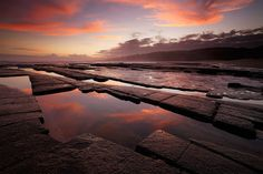 Seascape sunset image in the Dwesa Nature Reserve on South Africa's Wild Coast Modern Water Feature, Coast Style, Sunset Images, Water Pond, Nature Reserve, Africa Travel, Landscape Photos, South Africa, Sunrise