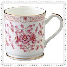 Hello Kitty x Milano Narumi Born China Mug Cup Pink 330cc Ed RARE Lovely F S | eBay