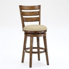 "Lowest price online on all Hillsdale LenoX 26"" Swivel Counter Stool in Chestnut - 4719-826S"