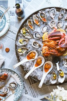 How To Throw A Raw Seafood Party @honestlyyum