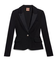 Tory Burch Andrea Blazer -give me. Passion For Fashion, Love Fashion, Vintage Fashion, Best Blazer, Lace Blazer, Scarf Styles, Cool Suits, Pretty Outfits, Autumn Winter Fashion