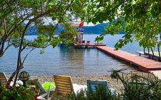 Marmaris, Selimiye Village, Marmaris in the last years around the … – Dreams Summer Vacation - Best Travel Photos Marmaris Turkey, 10 Picture, Istanbul Turkey, Amazing Destinations, Garden Bridge, Kayaking, Travel Photos, Beautiful Places, Outdoor Structures