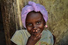Sweet little girl.