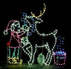 Oshkosh Celebration of Lights is located in beautiful Menominee Park, on the shores of Lake Winnebago. Monday Nov. 25 - Tuesday Dec 31 2013.