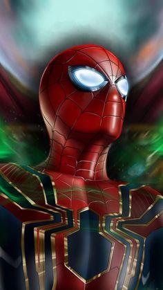 Spiderman Mask Eye Art IPhone Wallpaper - IPhone Wallpapers