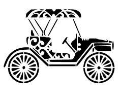 vintage car stencil vintage craft,fabric,glass,furniture,wall art in   eBay