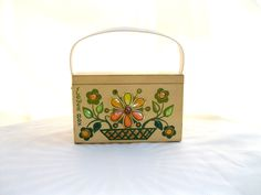 vintage box bag.original enid collins.womens by tessiemay on Etsy