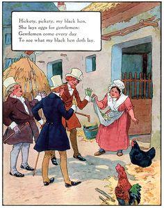 Hickety, pickety, my black hen,  artist Frederick Richardson