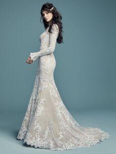 Wedding Dress Inspiration - Maggie Sottero #weddingdress