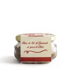 Fleur de Sel de Guérande épices Chine 150 Gr