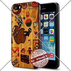 Apple iphone Logo iPhone 5 4.0 inch Case Protection Black Rubber Cover Protector ILHAN http://www.amazon.com/dp/B01ABFWP4W/ref=cm_sw_r_pi_dp_-fgNwb1PP7Z8P