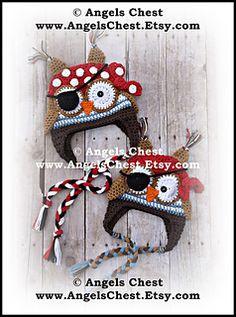 pattern on cratsy 6.99usd adult earflap owl hat crochet