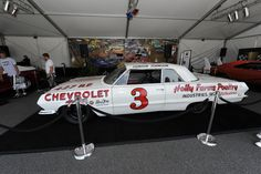 "1963 Chevrolet Impala Holly Farms No. 3 raced by NASCAR legend ""Junior"" Johnson. During the 1963 season, Johnson won seven races and captured 9 pole positions in this Impala."