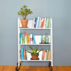 Library book cart do it yourself home projects from ana white not all purple naomis home color palette library cartunique bookshelvesbookshelf ideasbookcasediy solutioingenieria Gallery