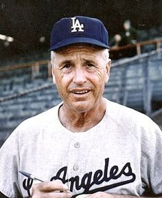 Walter Alston, Dodgers' manager