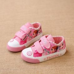 (27.00$)  Watch here - http://ai7il.worlditems.win/all/product.php?id=32797537084 - children's canvas shoes Low girls sports shoes toddle Sneakers baby kids loafers Lace cartoon Frozen girls canvas princess shoes