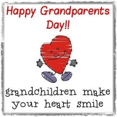 Happy Grandparents Day First Time Grandparents, The Eighth Day, Grandchildren, Quotes, How To Make, Printables, Signs, Quotations, Print Templates