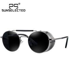$9.45 (Buy here: https://alitems.com/g/1e8d114494ebda23ff8b16525dc3e8/?i=5&ulp=https%3A%2F%2Fwww.aliexpress.com%2Fitem%2FClassic-Steampunk-Metal-Round-Mirror-Sunglasses-men-Brand-Designer-2015-Fashion-Cover-Driving-Sunglass-Gafas-De%2F32385892419.html ) Steampunk Sunglasses Womens 2016 Sunglasses Men's Glasses Brand Round Sun glasses Oculos de sol feminino Female Eyewears 409 for just $9.45