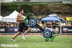 Get Rogue! #crossfit Khalipa is that man!