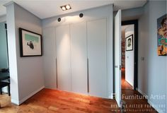 Bespoke Fitted Wardrobes in UK - Furniture Artist - - Traditional Fitted Wardrobes, Contemporary Fitted Wardrobes, Contemporary Bedroom, Made To Measure Wardrobes, Wardrobe Furniture, Built In Wardrobe, Bespoke, Locker Storage, Building