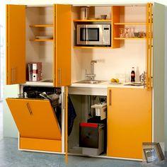 designLINE Schrankküche | Büroküche | Miniküche in Sommerfarben ... | {Büroküche 34}