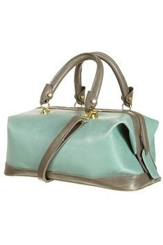 Mint And Grey Doctors Bag Stylesays Purses Handbags