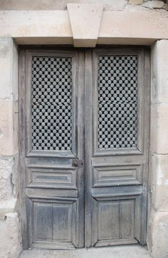 what lurks behind the mystery of these doors ...