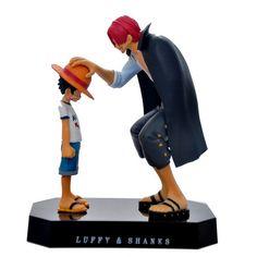 Japanese Anime One Piece Wholesale figure PVC action figure Luffy & Shanks Anime action figure