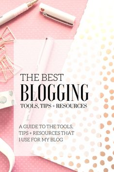There are so many tools and resources available for blogging. The truth is, all blogs are different. Different blogs, different needs. The following resources and tools are what help me have a site that is functional, create and display visually appealing content, and help me monetize with my blog.
