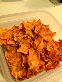 Sweet potato chips - My Real Food Family