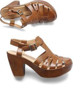Korkease Blythe in Tan Vachetta - Korkease Womens Sandals on Shoeline.com