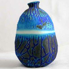 Raku Pottery Glazes | Original Art - Ceramic: Stoneware, Earthenware  Raku from The ...
