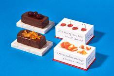 上からグリオット、オランジュ。 Bakery Packaging, Cookie Packaging, Brand Packaging, Packaging Design, Menu Design, Box Design, Layout Design, A Food, Food And Drink