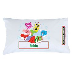 Yo Gabba Gabba Group Pillow Case - Bedding & Blankets - Decor | Tv's Toy Box