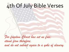 4th of july biblical quotes