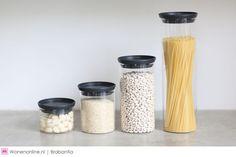 Een hectisch leven? Brabantia helpt je in elk geval je keuken georganiseerd te houden.