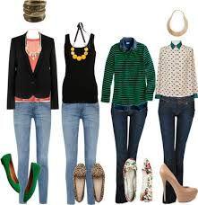 combinaciones de ropa casual para mujer - Buscar con Google