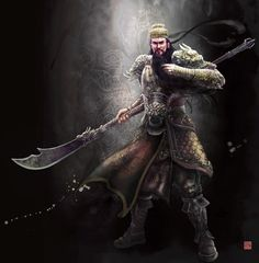 Guan Yu by Weichenstudio on @DeviantArt