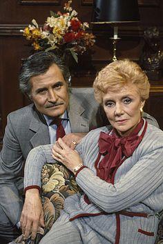 John Aniston and Peggy McCay...Caroline Brady and Victor Kiriakis  -  NBC'c Days of Our Lives