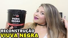 MÁSCARA VIUVA NEGRA RECONSTRUÇÃO  La Bella Liss
