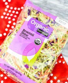 Oriental Ramen Broccoli Salad - An Alli Event Broccoli Slaw Dressing, Broccoli Salad, Ramen Recipes, Snack Recipes, Oriental Ramen, Ramen Dishes, Homemade Ramen, Salad Sandwich, Feeding A Crowd