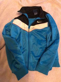 358a5fa27847 Nike Zip Up Jacket Boys Size 7 - Blue - Full Zip  fashion  clothing