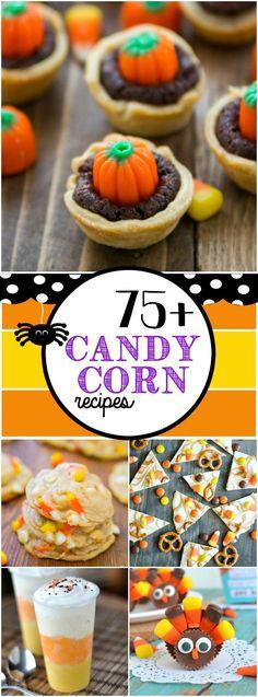 75 Candy Corn Recipes www. Fall Treats, Thanksgiving Desserts, Holiday Treats, Holiday Candy, Corn Recipes, Fall Recipes, Holiday Recipes, Holiday Foods, Recipes