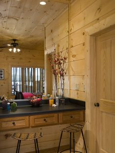 Rustic Decor, Bathroom and every room in the house! I love the walls