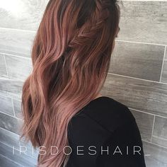 Rose gold perfection #irisdoeshair
