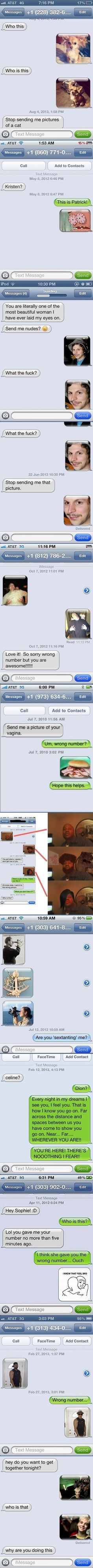 Perfect Ways To Respond To A Wrong Number Text …,  Click the link to view today's funniest pictures!